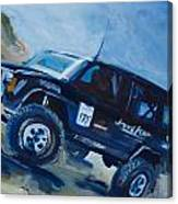 Jeepspeed Canvas Print