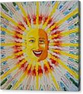 Jeffer Sun Canvas Print