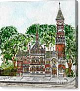 Jefferson Market Library Canvas Print