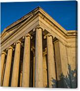 Jefferson Memorial Oblique Canvas Print