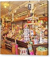 Jefferson Texas General Store Canvas Print