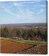 Jefferson's View From Monticello Canvas Print