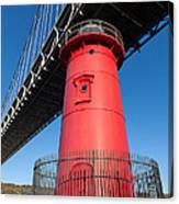 Jeffrey's Hook Lighthouse I Canvas Print