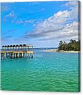 Jekyll Island Just Like Paradise Canvas Print