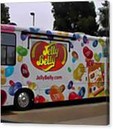 Jelly Belly On Wheels Canvas Print