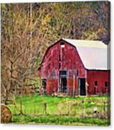 Jemerson Creek Barn Canvas Print