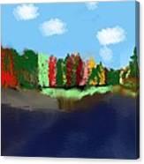 Jeni's Triumph Canvas Print