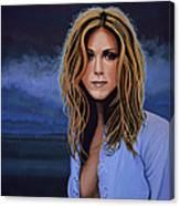 Jennifer Aniston Painting Canvas Print