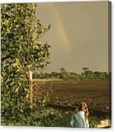 Jennifer's Rainbow Canvas Print