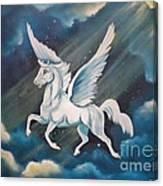 Jennifer's Ride Canvas Print