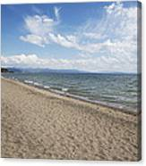 Yellowstone Lake Canvas Print