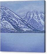 Jenny Lake - Grand Tetons Canvas Print