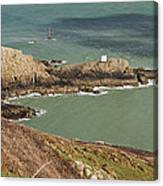 Jerbourg Point On Guernsey - 3 Canvas Print