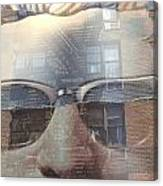 Jeremy In Shades Canvas Print