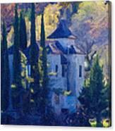 Jerome's Powder Box Church Canvas Print