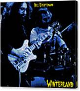Jerry And Billy At Winterland Canvas Print