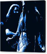 Jerry And Donna Blues 1978 Canvas Print