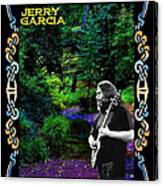 Jerry At Psychedelic Creek Canvas Print