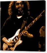 Jerry At Winterland 1977 Canvas Print