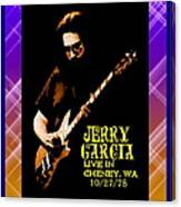 Jerry Cheney 1 Canvas Print