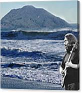 Jerry Garcia At Mt Tamalpaisland 3 Canvas Print