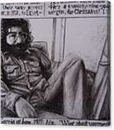 Jerry Garcia....taken From Rollingstone Interview 1972 Canvas Print