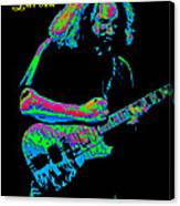 Jerry In Cheney On A Cosmic Day In 1978 Canvas Print