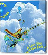 Jerry In The Sky With Love Canvas Print