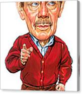 Jerry Stiller As Frank Costanza Canvas Print