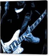 Jerry Stretches The Blues Canvas Print