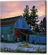 Jersey Avenue Metal Canvas Print