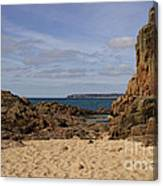 Jersey Beach  Canvas Print