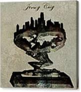 Jersey City Skyline Canvas Print