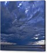 Jersey Downpour Canvas Print