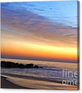 Jersey Shore Sunrise Canvas Print