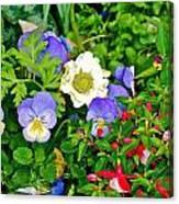 Jerusalem Garden No 2 Canvas Print