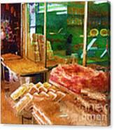 Jerusalem Marketplace Canvas Print