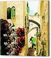 Jerusalem Old City Canvas Print