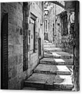 Jerusalem Street Canvas Print
