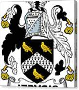 Jervois Coat Of Arms II Irish Canvas Print