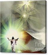 Jesus Abstract Canvas Print