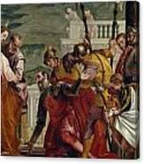 Jesus And The Centurion Canvas Print