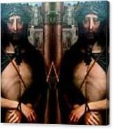 Jesus At The Met Canvas Print