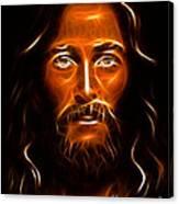 Brilliant Jesus Christ Portrait Canvas Print