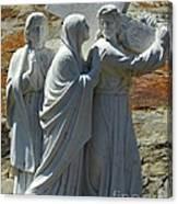Jesus Carrying Cross Canvas Print