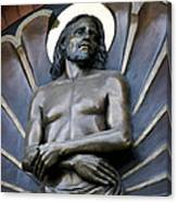 Jesus Cathedral Icon -  Spokane Washington Canvas Print