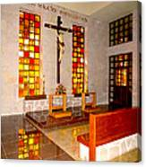 Jesus Christ Chapel Canvas Print