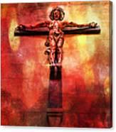 Jesus Christ On The Cross Canvas Print
