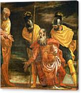 Jesus Healing The Servant Of A Centurion Canvas Print