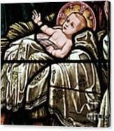 Jesus Is Born Canvas Print